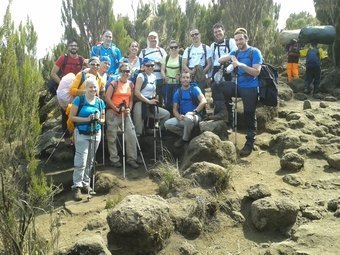 En route vers le Machame Camp