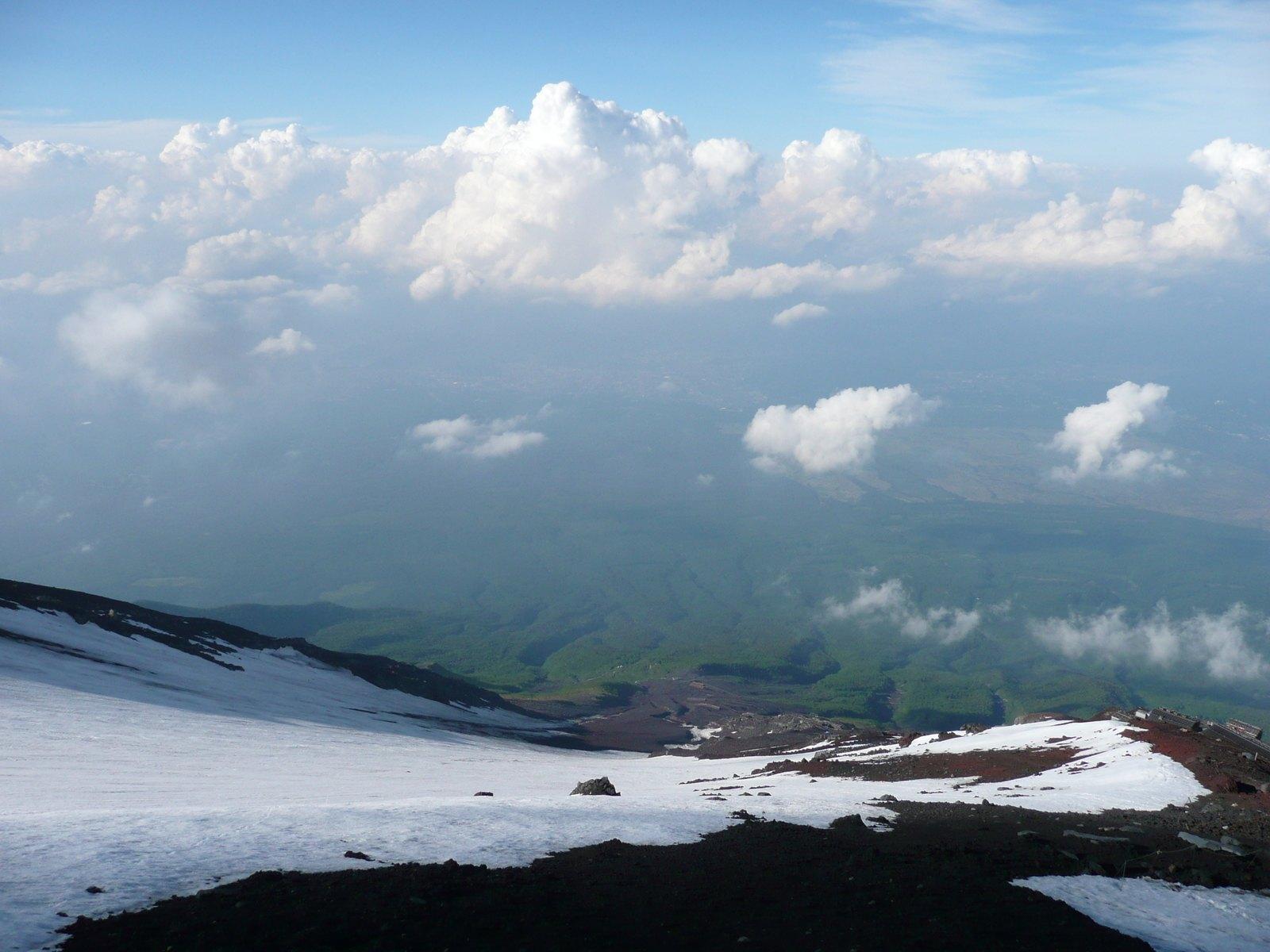 Climbing Mount Fuji Br Japan